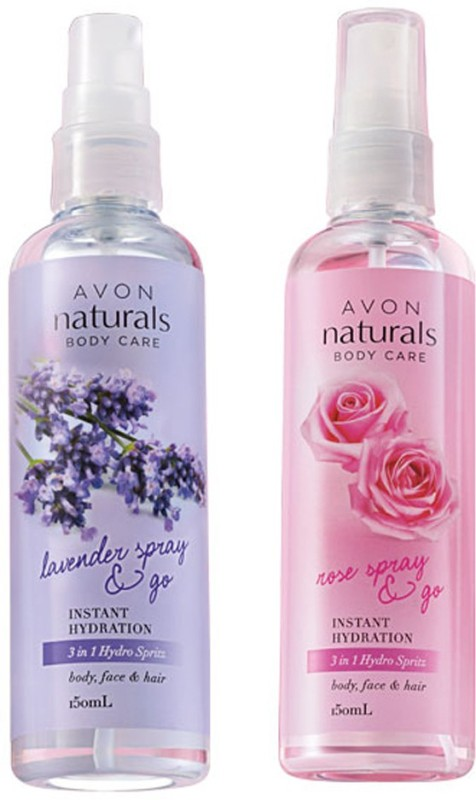 Avon Anew Naturals 3-in-1 Lavender & Rose Spray (set of 2 of 150 ml each)(150 ml)