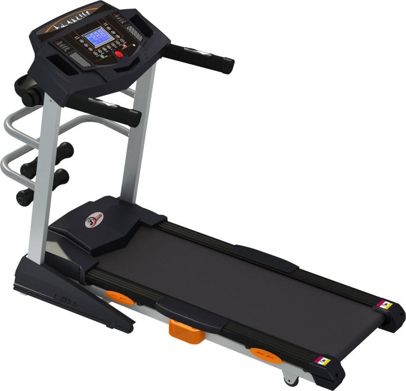 Durafit Heavy-Hike Multifunction (Peak 5.0 HP) Motorized Foldable Treadmill with Auto-Incline & Massager Treadmill