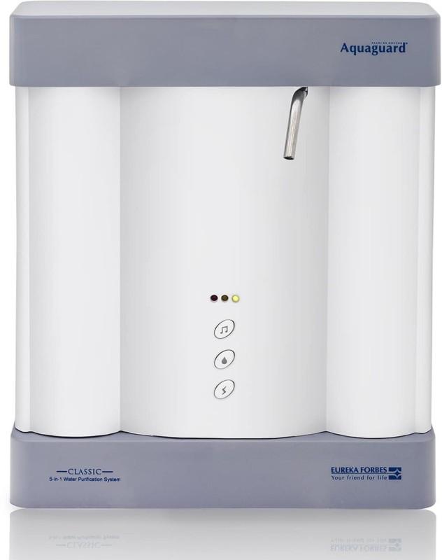 Eureka Forbes Aquaguard Classic UV Water Purifier(Silver)