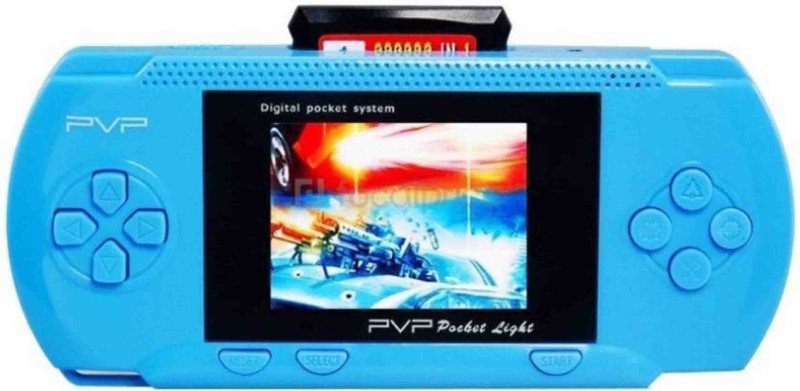PTCMart PSP Video Game 2018 1 GB with Multipal Games(Blue)
