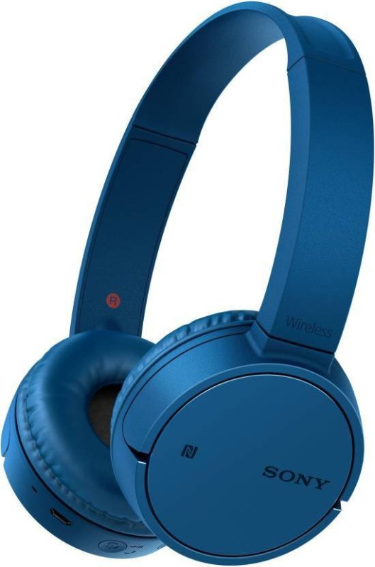 Sony WH-CH500L/ BLUE Bluetooth Headset(Blue, Over the Ear)