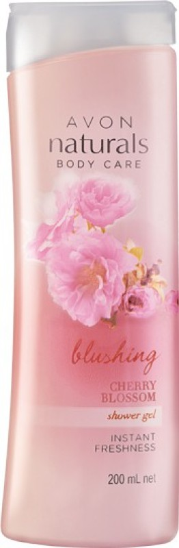 Avon Naturals Body care Blushing Cherry Blossom Shower Gel(200 ml)