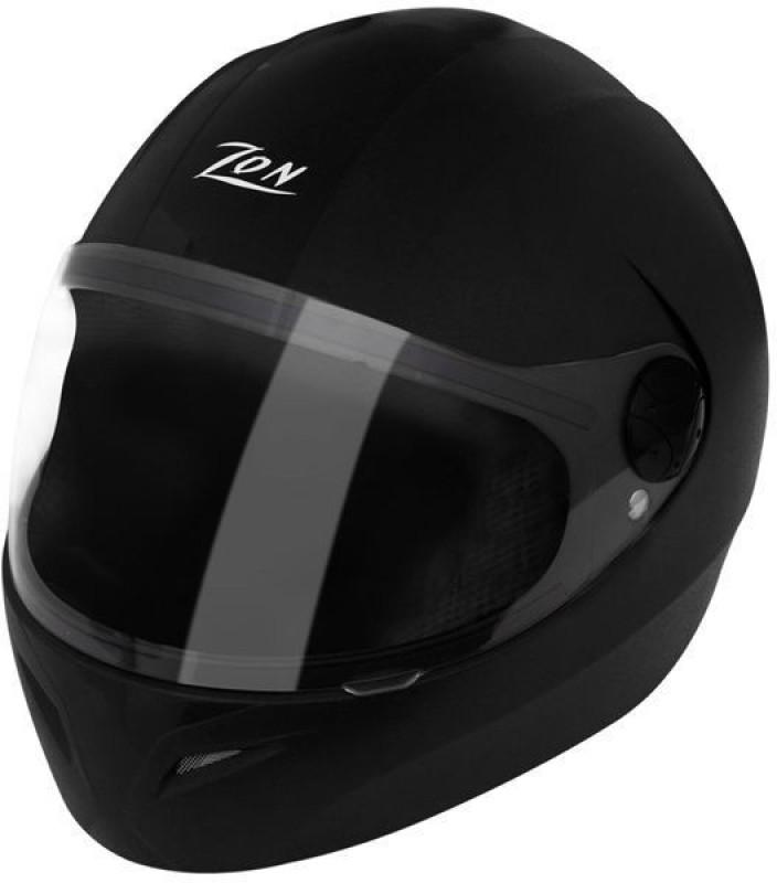 Steelbird SB-37 Zon Classic Motorbike Helmet(Black)
