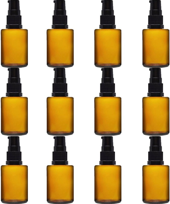 Amber 15 Ml oil Laboratory Dropper Bottle(Glass 15 ml Pack of12)