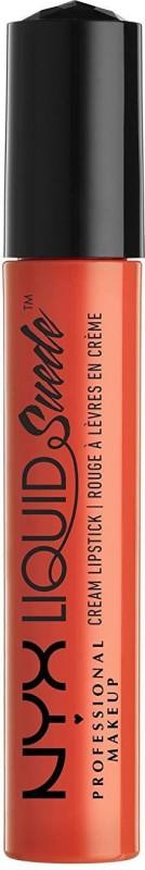 Nyx Suede Cream Lipstick(Orange County)