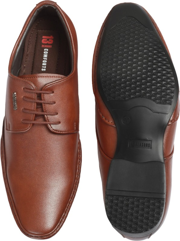 13 REASONS Comfort 19 Lace Up For Men(Tan)