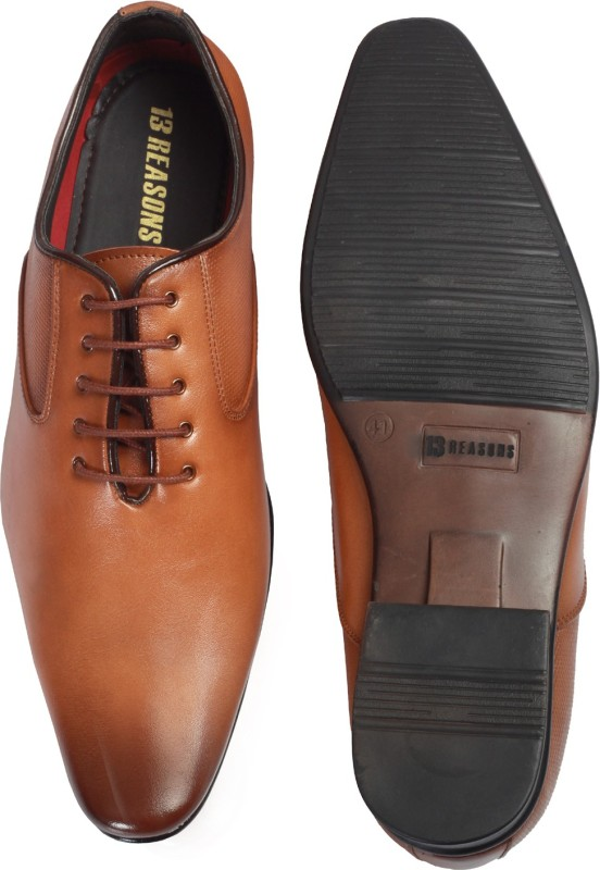13 REASONS Egypt 114 Lace Up For Men(Tan)