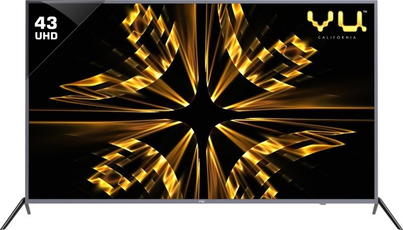 Vu Iconium 109cm (43 inch) Ultra HD (4K) LED Smart TV(43BU113)