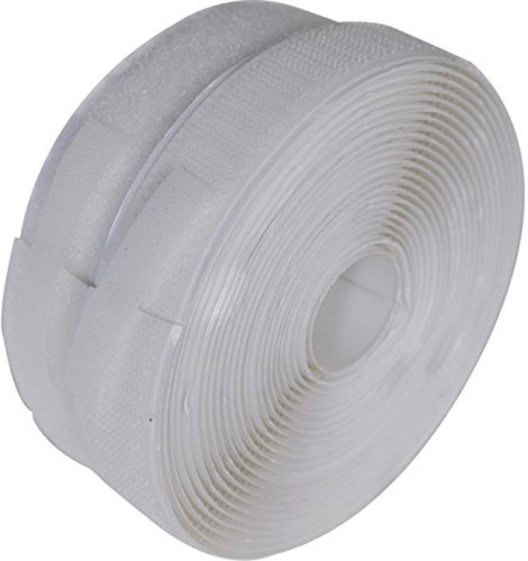 Prakasam Cotton 25MM Sew-on Velcro(White)