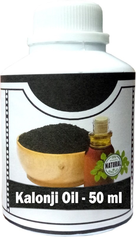 absquare Natural and Pure Kalonji bath essentials oil 50ml (Natural Black Seed Oil in bath essentials oil 50 ml )(50 ml)