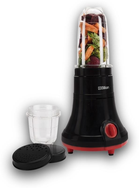 Billion Nutriblend MG170 400 W Juicer Mixer Grinder(Black, 2 Jars)