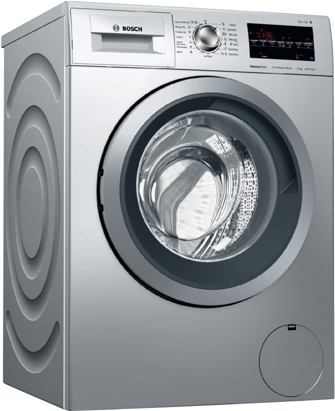 Bosch 8 kg Fully Automatic Front Load Washing Machine Silver(WAT24464IN)