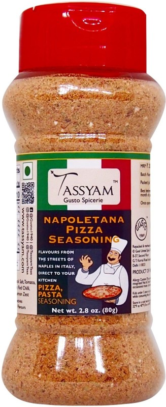 Tassyam Napoletana Pizza Seasoning 80g | Dispenser Bottle(80 g)