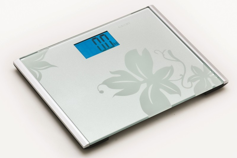Camry EB9313H-S104 Wide Platform Body Fat/Hydration Super Slim Fashionable Pattern Monitor Weighing Scale(Grey)