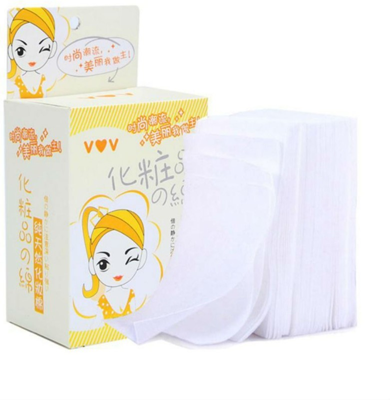 Oneclickshopping 100 Pieces Of Makeup Cotton Pad(100 Units)