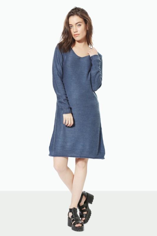 People Women Shirt Blue Dress