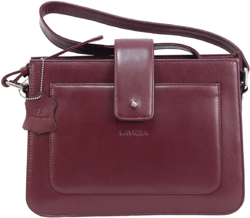 LAVICEA Women Maroon Hand-held Bag