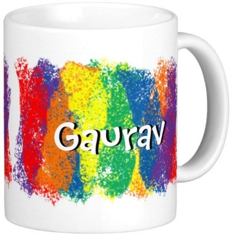 GNS GAURAV Gift M005 Ceramic Mug(325 ml)