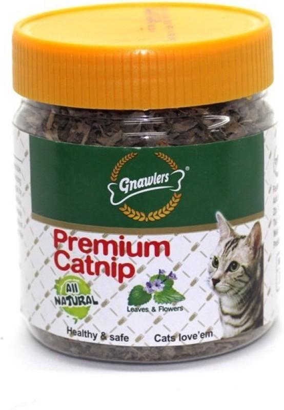 Gnawlers Leaves & Flowers Premium Catnip Catnip Cat Treat(30 g)