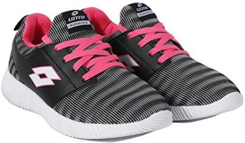 Lotto F7L4876-50 Running Shoes For Women(Black, Pink)
