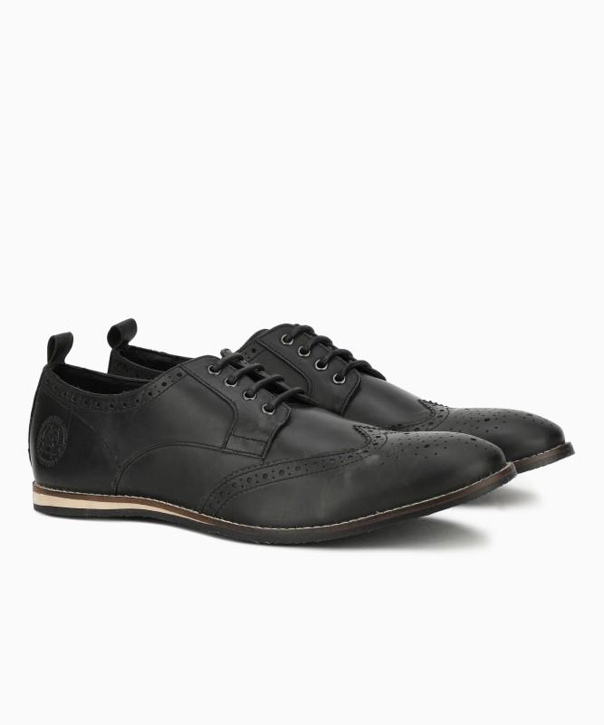 U.S. Polo Assn Paul Brouge Shoe For Men(Black)