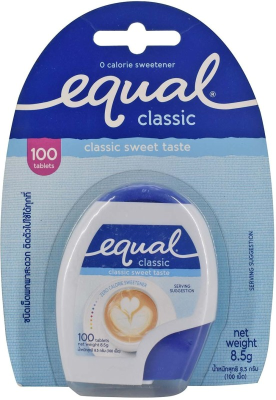 Equal Classic Zero Calorie Sweetener, 100 Tablets - 8.5g Sugar(8.5 g)