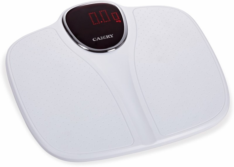Camry EB7010-21 Electronic Fiber Large LED Disply With High Precision 0.05Kg Health Monitor Weighing Scale(White)