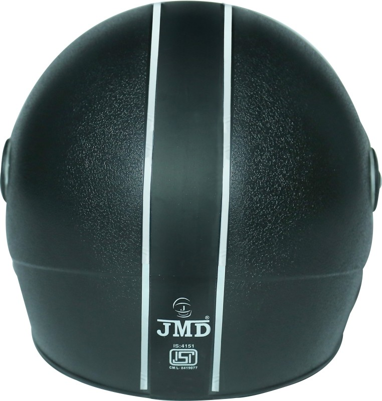 JMD Magna Motorbike Helmet(Scratch Proof Black)