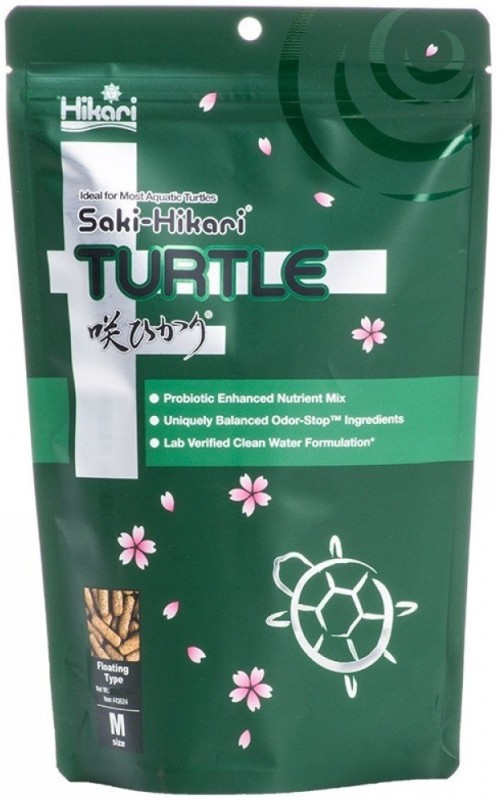 Hikari Saki Sticks Turtle Food, 45 g Shrimp Turtle Treat(45 g, Pack of 2)