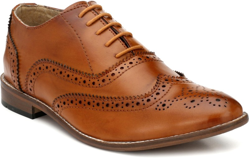 Eego Italy Derby For Men(Tan)