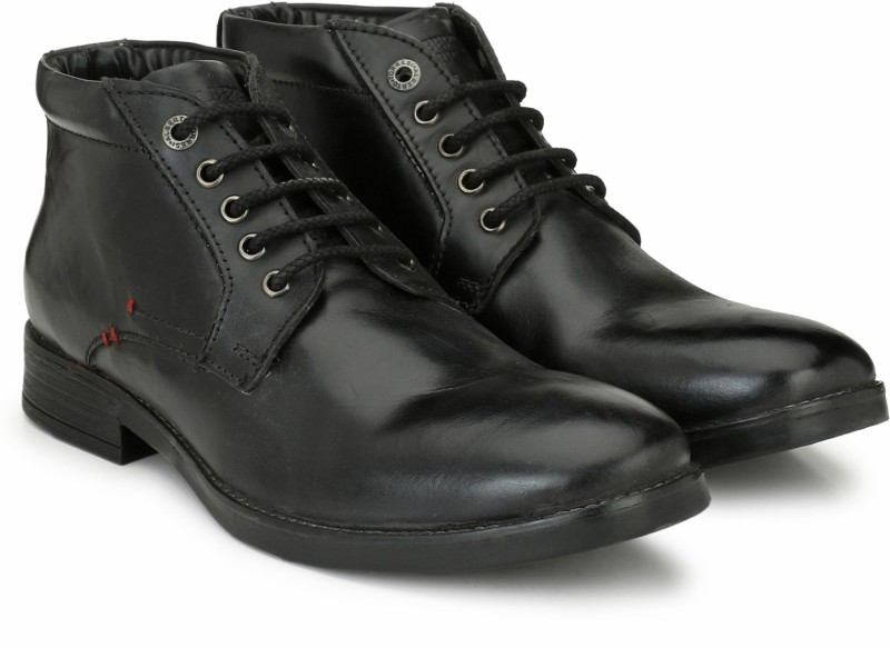 Alberto Torresi Boots For Men(Black)