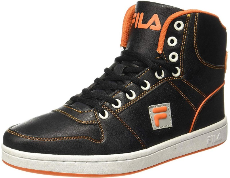 Fila Sneakers For Men(Black, Orange)