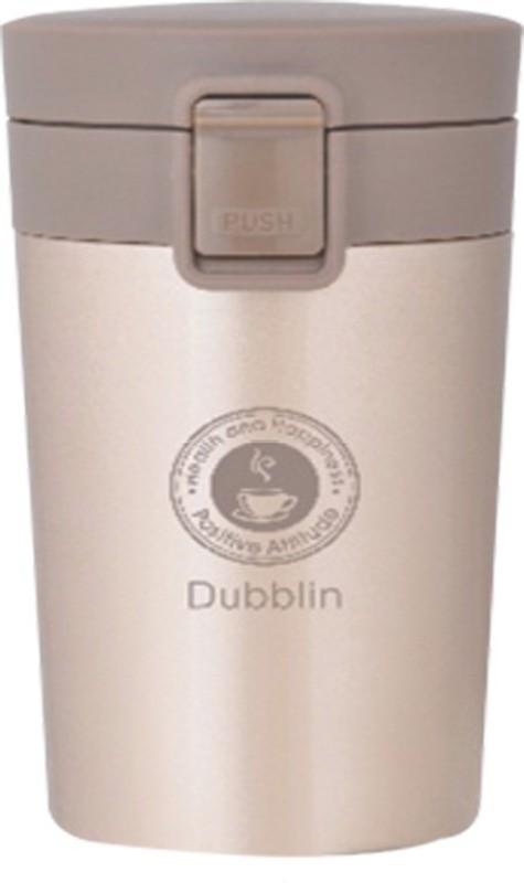 dubblin Frappe 300ml 300 ml Flask(Pack of 1, Gold)