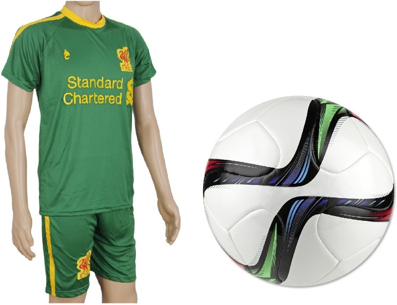 SportsCorner Combo of Conext15 Football (Size-5)with Suit (Jersey + Shorts) Football Kit