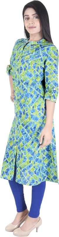 Jai Kurties Women's Printed Straight Kurta(Multicolor)