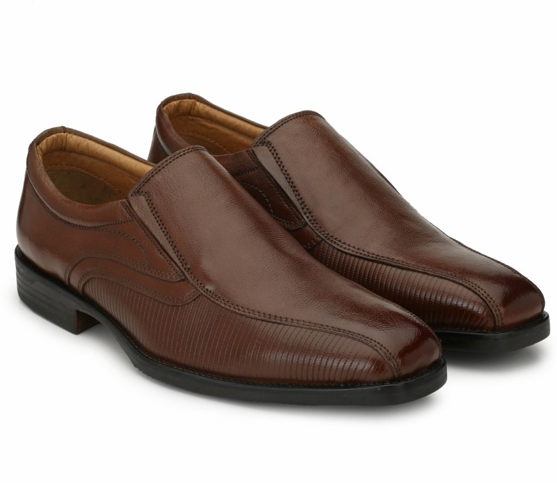 Alberto Torresi Slip On For Men(Tan)