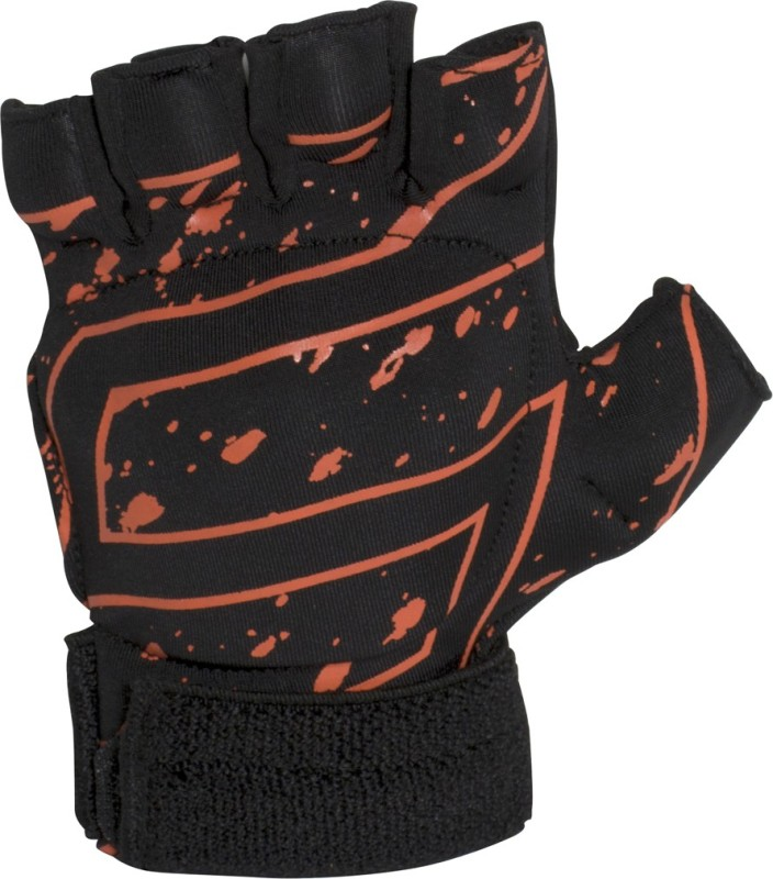 SNS Ultra LITE Glove (Medium) Hockey Gloves (M, Black, Red)