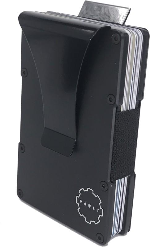 House Of Quirk Men Black Aluminium Card Holder(10 Card Slots)