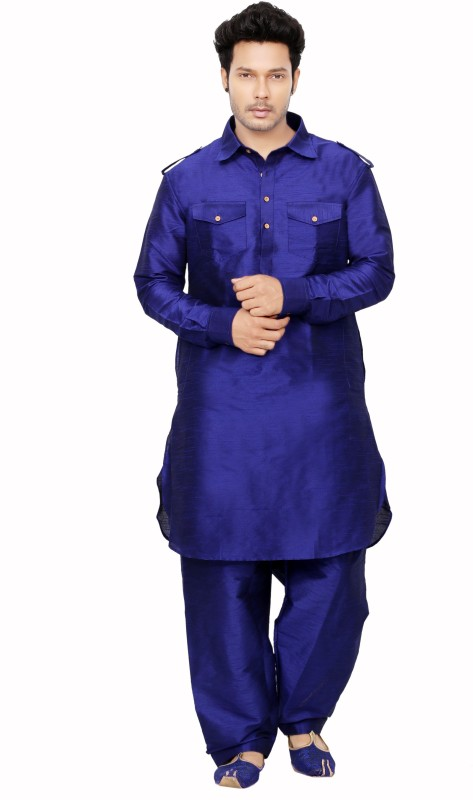 Dolphin Miles Men's Pathani Suit Set