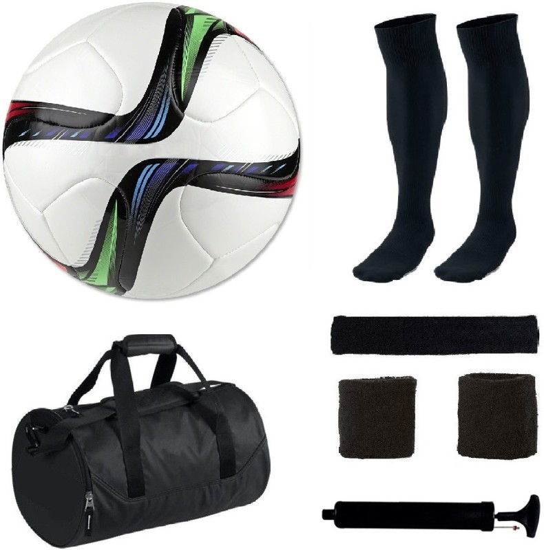 SportsCorner Combo of Conext15 Football (Size-5)with 5 Other items Football Kit