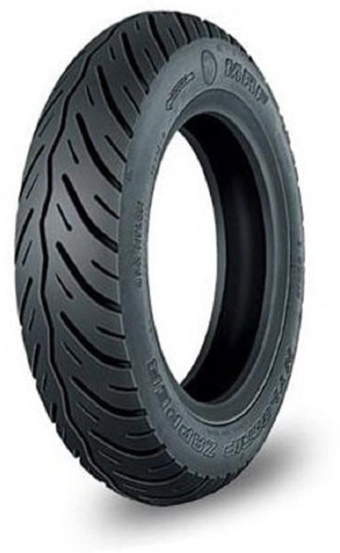 MRF Nylogrip Zapper N4 90/100-10 53J Tubeless Scooter Tyre 2 Wheeler Tyre(N4 90/100-10 53J, Tube Less)