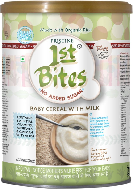 1st Bites Rice - No Added Sugar (6 Months - 24 Months) Cereal(400 g, 6+ Months)