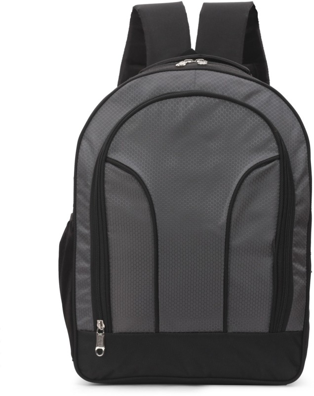 quaffor Grey Designer Waterproof Backpack(Grey, 25 L)