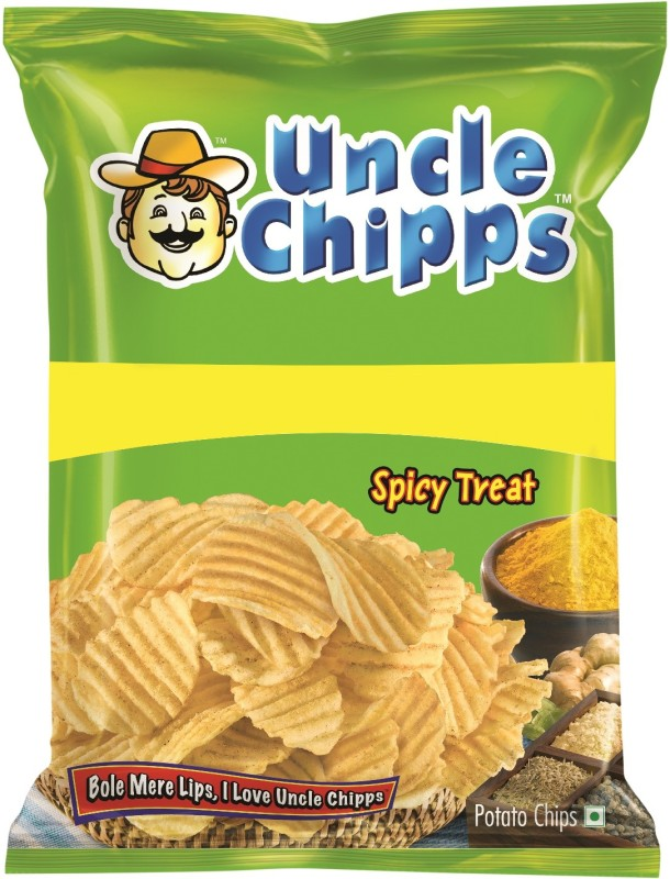 Uncle Chipps Spicy Treat Chips(50 g)