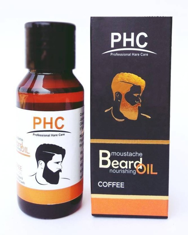 PHC BEARD OIL COFFEE FLAVOR 60ML Hair Oil(60 ml)