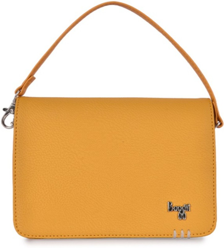 Baggit Hand-held Bag(Yellow)