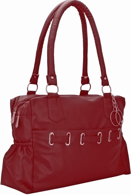 Lady bar Women Maroon Hand-held Bag