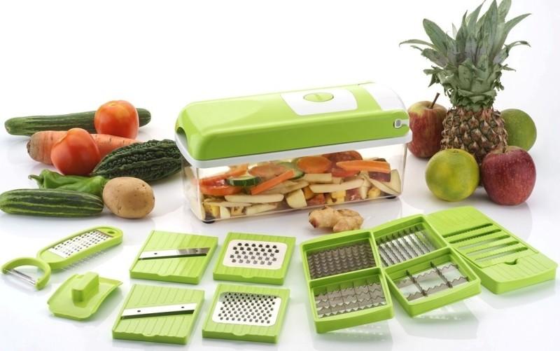 Jen Advance 12 IN 1 Multi-Purpose Vegetable & fruit Grater, Slicer, Cutter, Vegetable & Fruit Chopper(1 Chopper set)