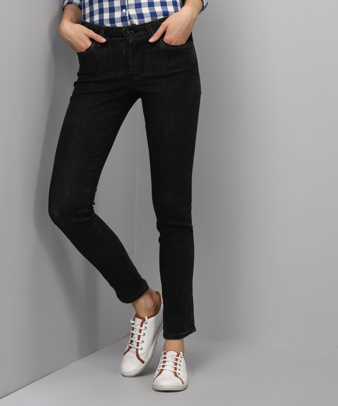 Levis Slim Womens Black Jeans