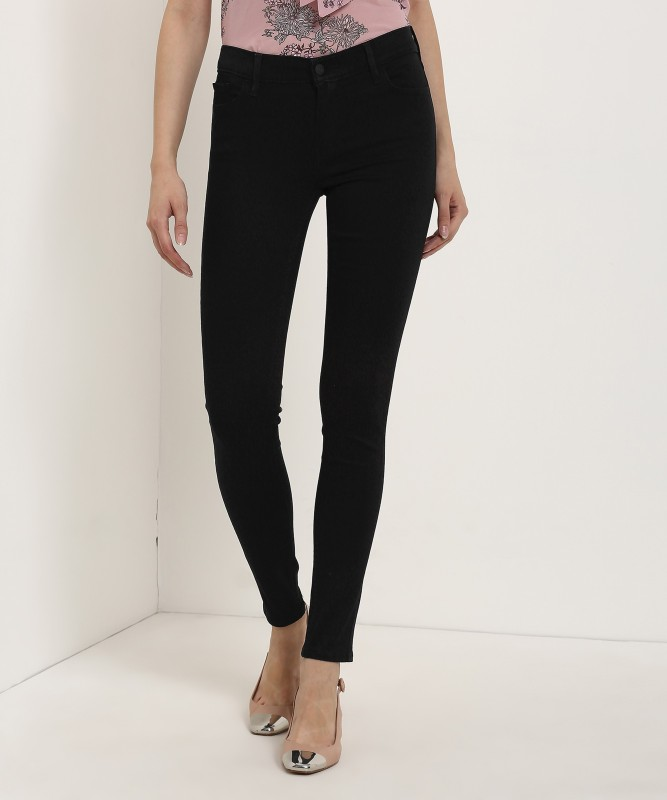 Levis Super Skinny Womens Black Jeans